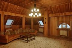 L'intérieur du grenier Image libre de droits