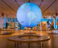 L'intérieur du musée célèbre des sciences de Trento en Trentino Alto Adige Le grand interactiv Photo stock