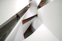 L'intérieur du Musée d'Art, Tel Aviv Image stock