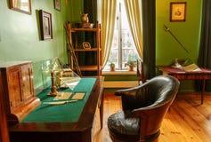 L'intérieur du musée-domaine Trigorskoye Photos stock