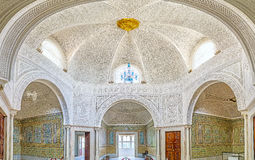 L'intérieur du palais de Hafsid Photo stock