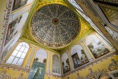 L'intérieur du palais de Topkapi Image stock