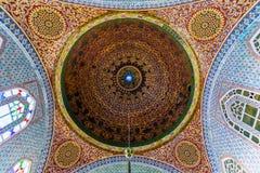 L'intérieur du palais de Topkapi Photographie stock