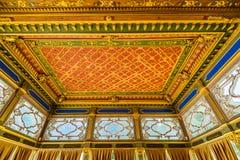 L'intérieur du palais de Topkapi Photos stock