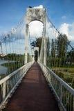 L'intérieur du pont suspendu Photos stock