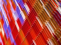 l'intérieur en plastique acrylique de feuille, textotent la conception d'A sur 60 degrés, Oran Photographie stock