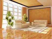 L'intérieur moderne d'un hall Photos stock