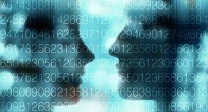 L'intelligence artificielle écrivent le nouvel algorithme d'ordinateur Image stock