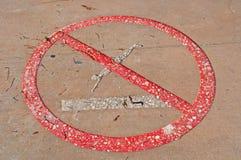 L'interdiction plonge, signale, interdiction, interdiction, jetée de plage de Higgs, mer, Key West Image libre de droits