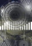 L'interface de technologie de la Science et d'architecture a fusionné la transition illustration libre de droits