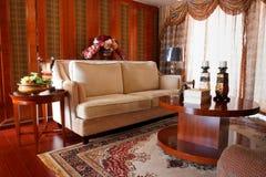L'interiore costoso di lusso del salone Fotografia Stock