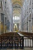 L'interiore della chiesa Fotografie Stock