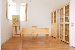 L'interiore della stanza di studio Fotografia Stock