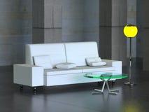 L'interiore moderno (3) Immagine Stock Libera da Diritti