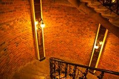L'interiore sull'ordine del castello. Fotografie Stock Libere da Diritti
