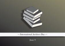L'International archive le vecteur de jour Images stock