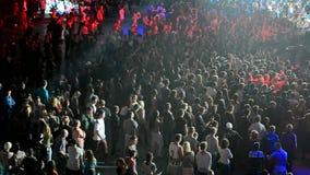 L'International dansent le smurf l'école 2014 de bataille de brûlure d'exposition, banque de vidéos