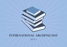 L'internazionale archiva il vettore del giorno royalty illustrazione gratis