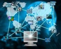 L'Internet dans son ensemble Photographie stock libre de droits