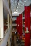 L'interno del centro commerciale Immagini Stock Libere da Diritti