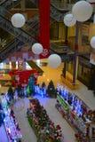 L'interno del centro commerciale Fotografia Stock Libera da Diritti