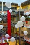 L'interno del centro commerciale Immagini Stock