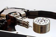 L'interno del disco fisso Immagini Stock