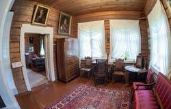 L'interno del museo Suvorov Immagini Stock
