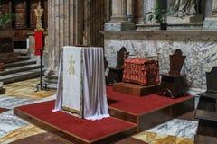 L'interno del panteon, Roma, Italia Fotografia Stock Libera da Diritti