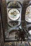 L'interno del tempio di nuovo Athos Fotografie Stock