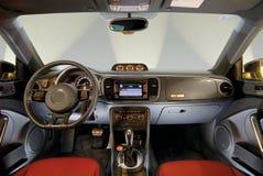 L'interno dell'automobile Immagini Stock