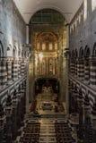 L'interno della cattedrale di San Lorenzo di Genova Immagine Stock Libera da Diritti