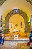 L'interno della chiesa del primato di St Peter Immagine Stock