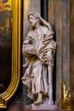 L'interno della chiesa di St Peter è un parrocchiale cattolico nello stile di Boraco Fotografia Stock
