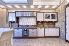 L'interno della cucina Immagine Stock
