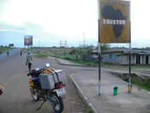 L'intersezione dell'equatore. Immagine Stock Libera da Diritti