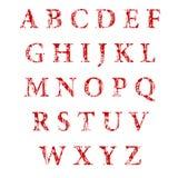 L'intestazione di alfabeto Immagine Stock Libera da Diritti