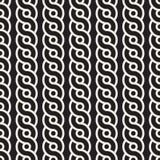 L'intreccio senza cuciture di vettore allinea il modello Struttura astratta alla moda moderna Ripetizione delle mattonelle geomet illustrazione di stock