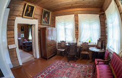 L'intérieur du musée Suvorov Images stock