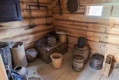 L'intérieur du musée Suvorov Photos stock