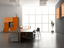 L'intérieur moderne de bureau Image stock
