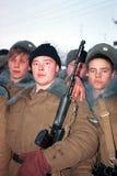 L'INVASION RUSSE DU CHECHENIE Photographie stock