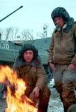 L'INVASION RUSSE DU CHECHENIE Image libre de droits