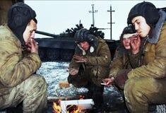 L'INVASION RUSSE DU CHECHENIE Images stock
