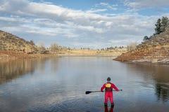 L'inverno sta su remante in Colorado Immagini Stock