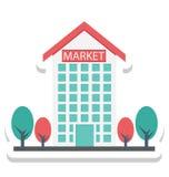 L'ipermercato, icone di vettore isolate centro commerciale eccellente può essere modifica con tutto lo stile royalty illustrazione gratis