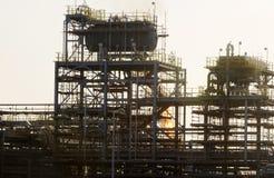 L'IRAK Qurna occidental 2 un traitement d'huile Photographie stock libre de droits