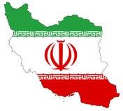 l'Iran Image libre de droits