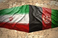 l'Iran et l'Afghanistan Images libres de droits