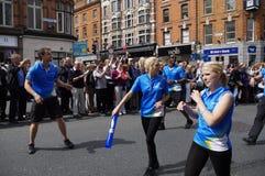 l'irlanda dublino 6 giugno 2012 Fotografia Stock Libera da Diritti
